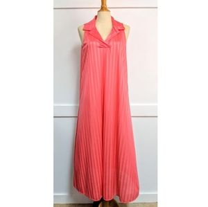 Vintage nightgown Tangerine size Large